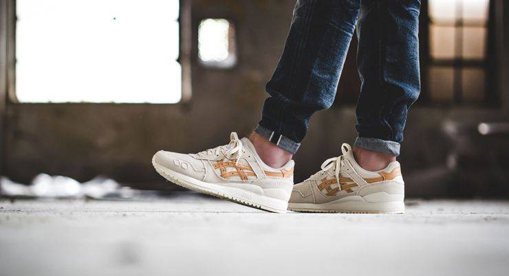 ASICS Gel-Lyte III Canvas Tote Pack - Stone Forest
