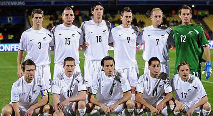 Футбольная сборная Новой Зеландии - Stone Forest