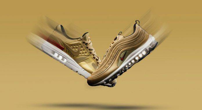 Air Max Metallic Gold Pack - Stone Forest
