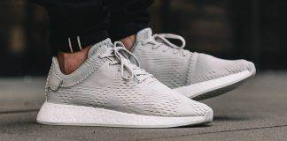 Кроссовки adidas Originals × Wings + Horns NMD R2 - Stone Forest