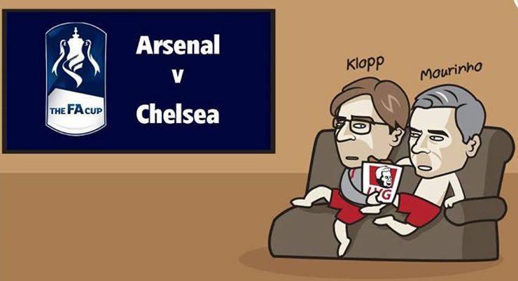 Лондонское дерби Арсенал против Челси - Stone Forest