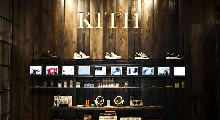 Магазин KITH - Stone Forest