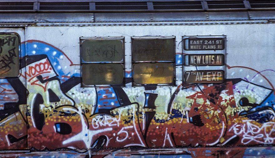 Метро Нью-Йорка в 70-80-е годы - Stone Forest