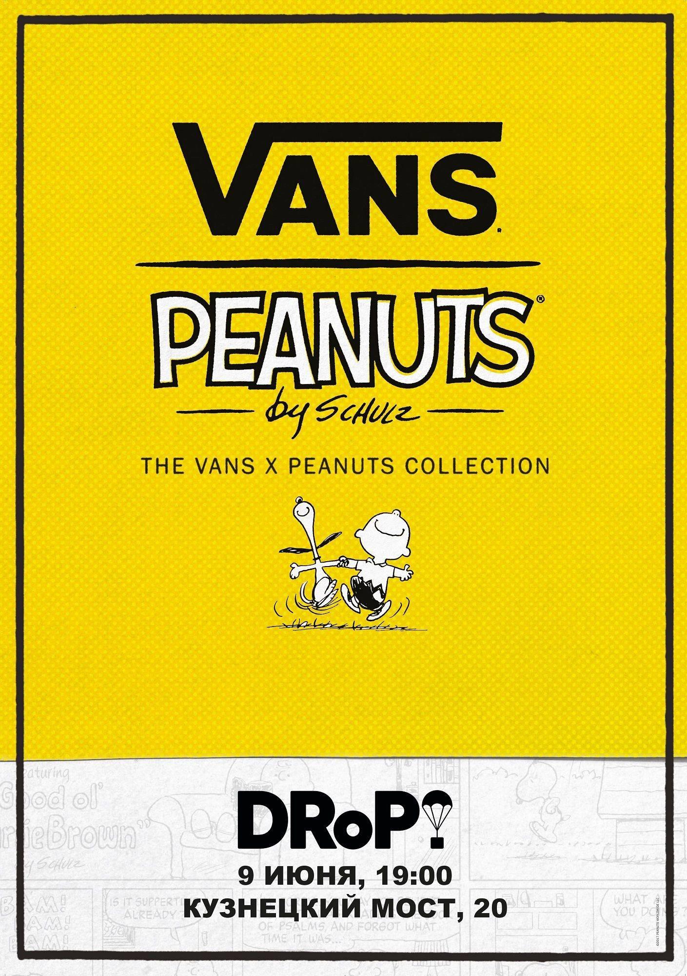 Коллаборация Vans x Peanuts - Stone Forest