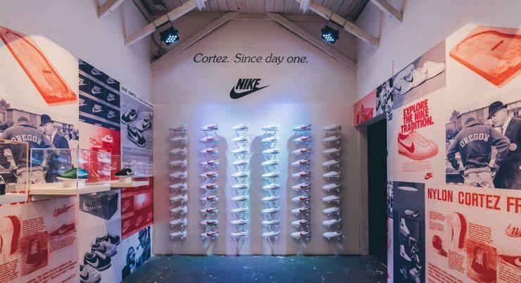 Кроссовки Nike Classic Cortez - Stone Forest