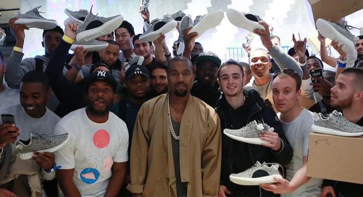 adidas Originals Yeezy Boost 350 V2 Zebra - Stone Forest