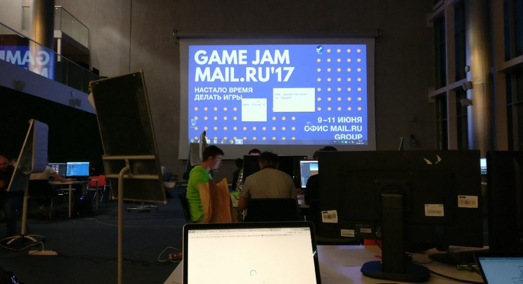 Game Jam Mail.Ru 2017 - Stone Forest