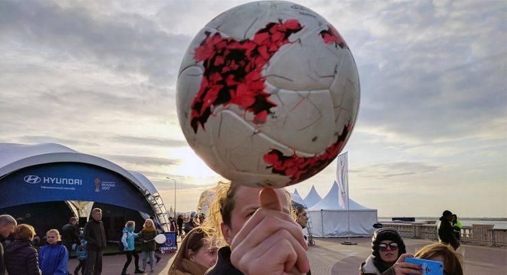 Футбольный мяч Krasava - Stone Forest