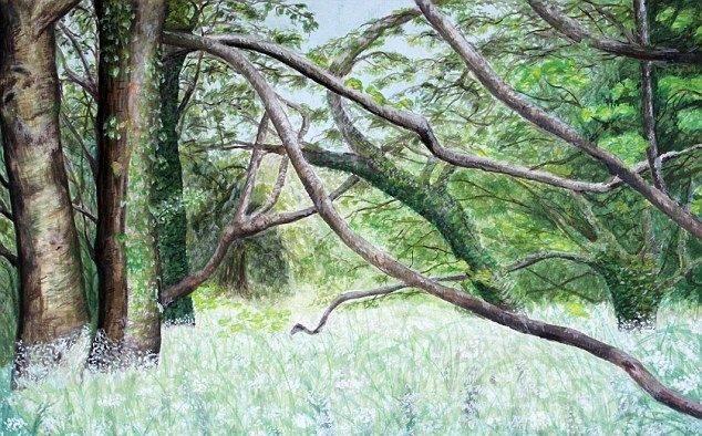 Картины братьев Крэй - Stone Forest