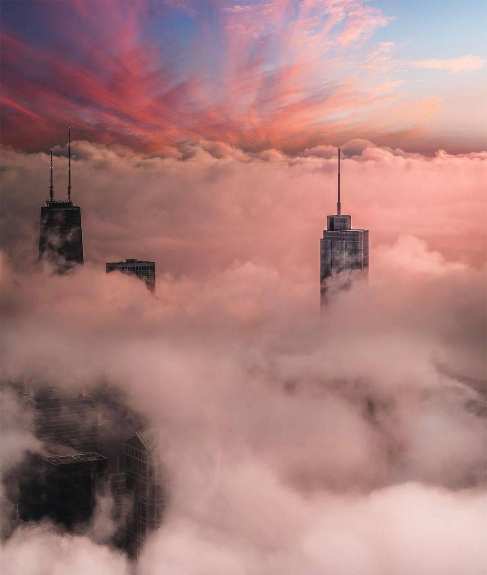 Майк Мейерс и его фотографии зимнего Чикаго - Stone Forest