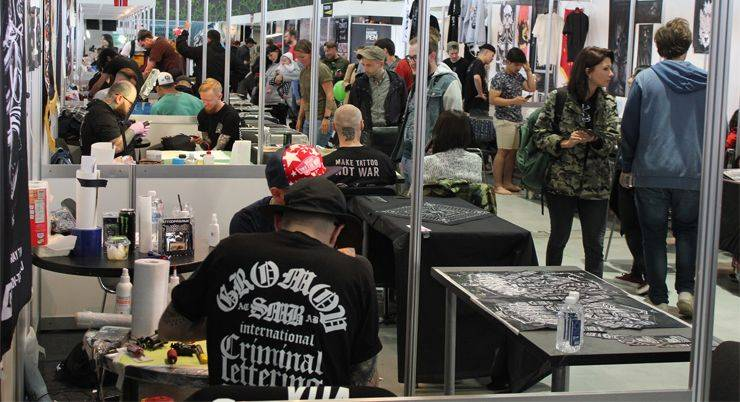 Moscow Tattoo Convention 2017 - Stone Forest
