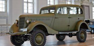 Автомобиль маршалов ГАЗ-61 - Stone Forest