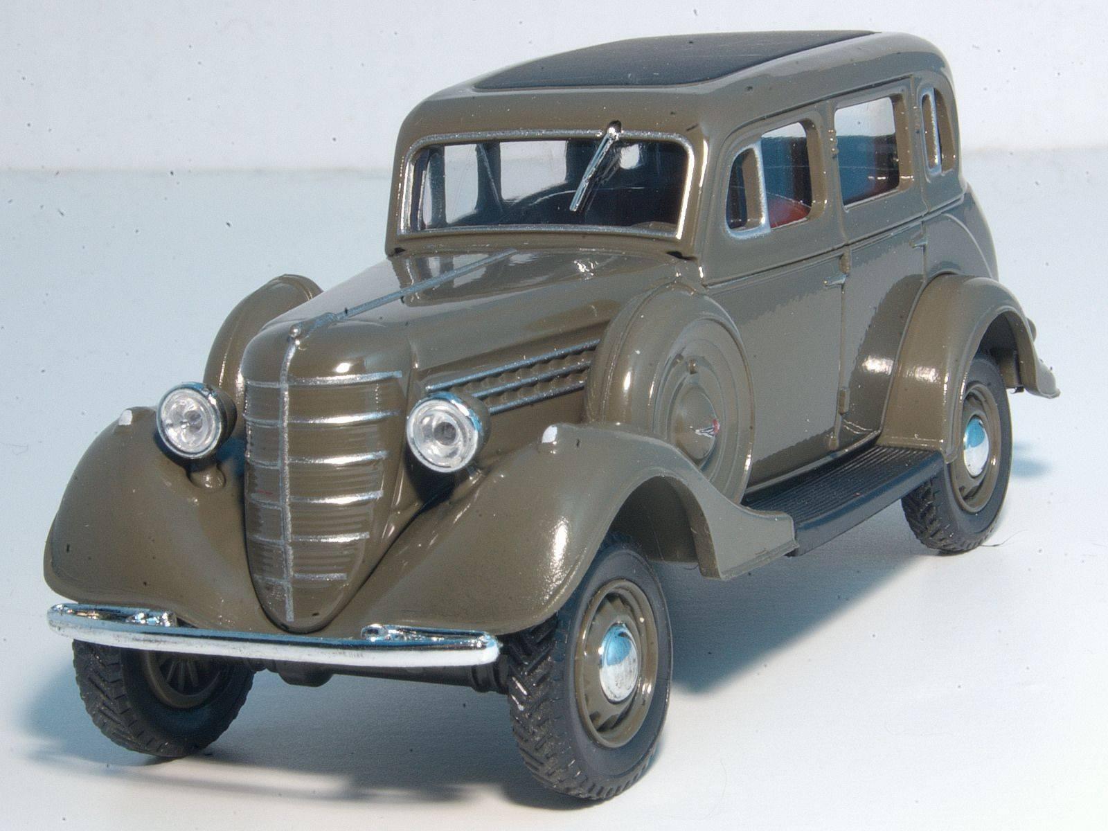 Автомобиль ГАЗ-61 - Stone Forest