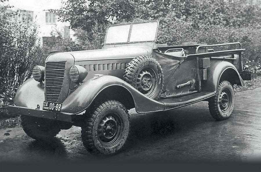 GAZ-61 - Stone Forest