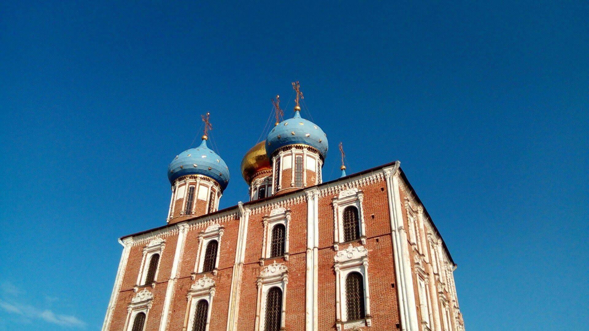 Успенский собор в Рязанском Кремле - Stone Forest
