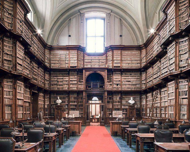 Biblioteca Angelica Rome - Stone Forest