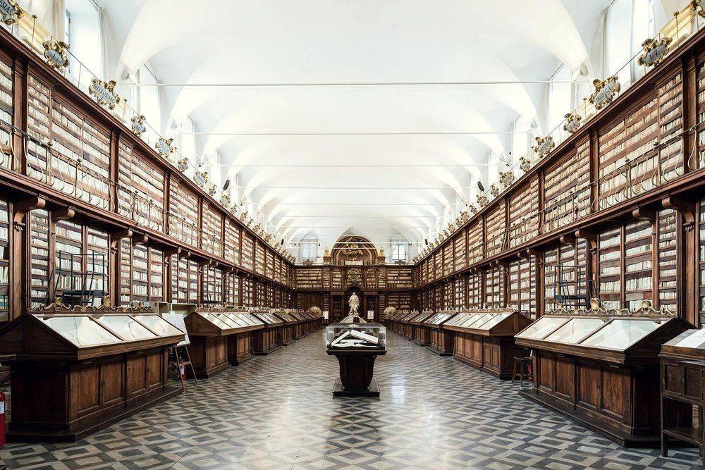 Biblioteca Casanatense Rome 1701 - Stone Forest