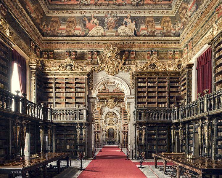 Biblioteca Joanina Coimbra 1728 - Stone Forest