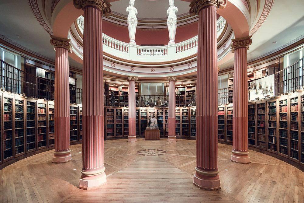 Bibliothèque de Musée Guimet Paris - Stone Forest