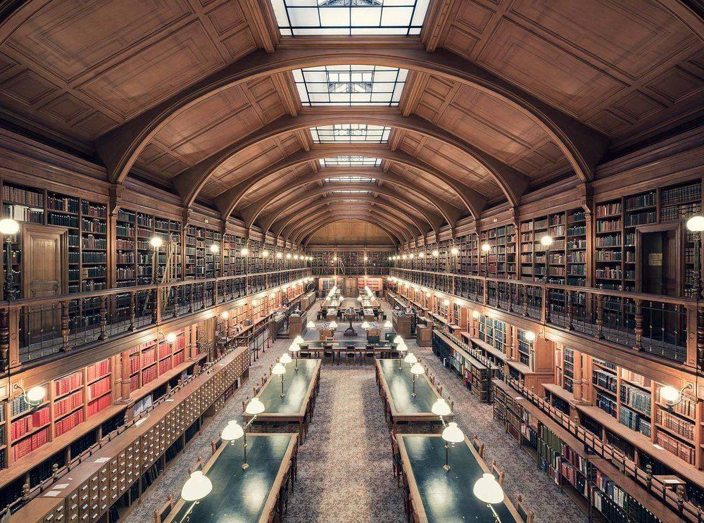 Bibliothèque de l'Hotel de Ville de Paris 1890 - Stone Forest