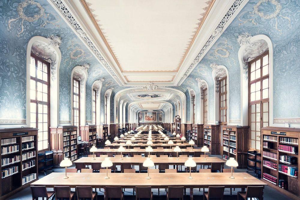 Bibliothèque de la Sorbonne Paris 1897 - Stone Forest