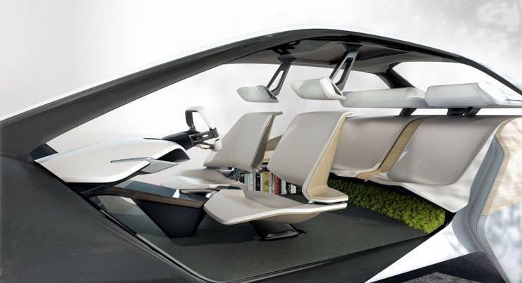 Индивидуальный интерьер салона BMW - Stone Forest