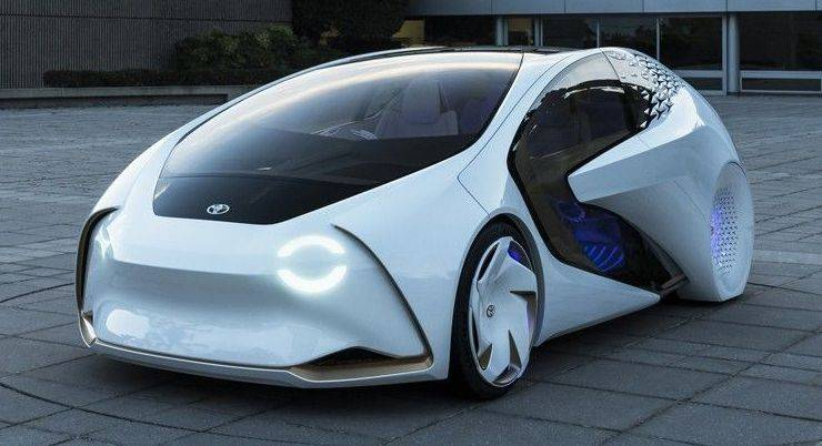 Toyota Concept-i - Stone Forest