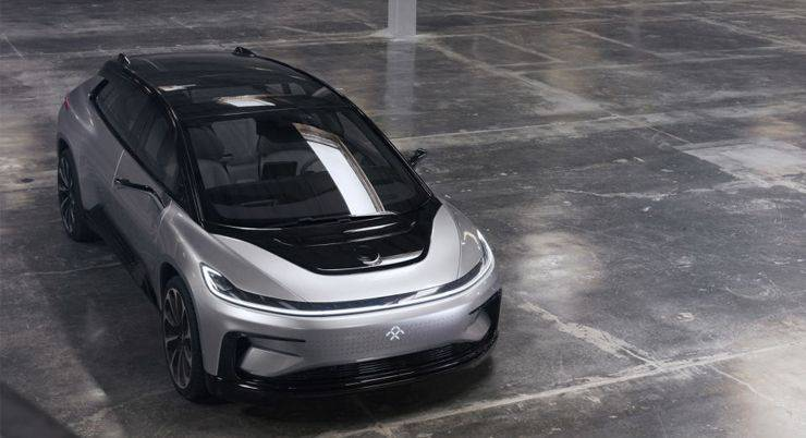 Faraday Future FF 91 - Stone Forest