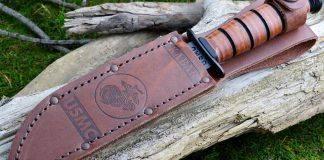 Нож Ka-Bar USMC - Stone Forest