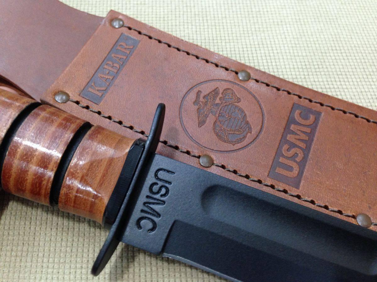 Нож армейский Ka-Bar USMC - Stone Forest