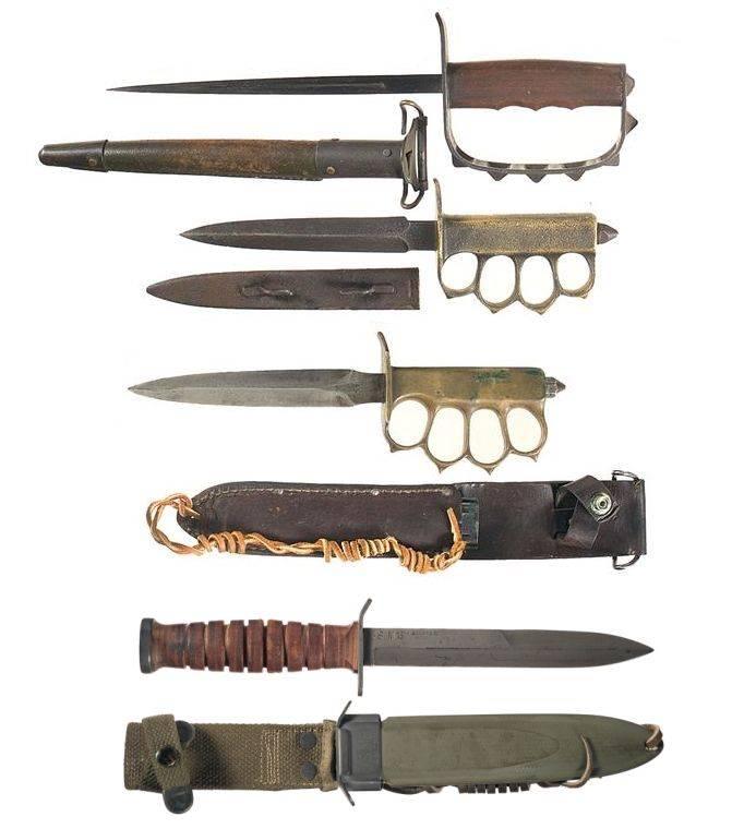 Военный нож Mark I - Stone Forest