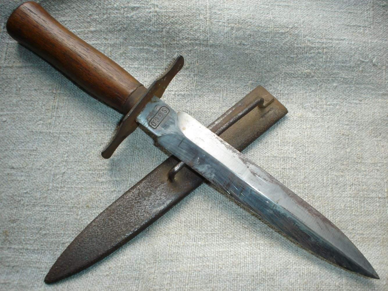 Траншейный нож Mark I - Stone Forest