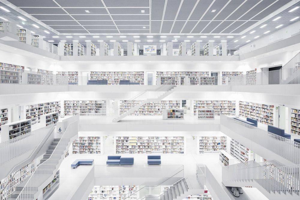 Stadtbibliothek Stuttgart 2011 - Stone Forest