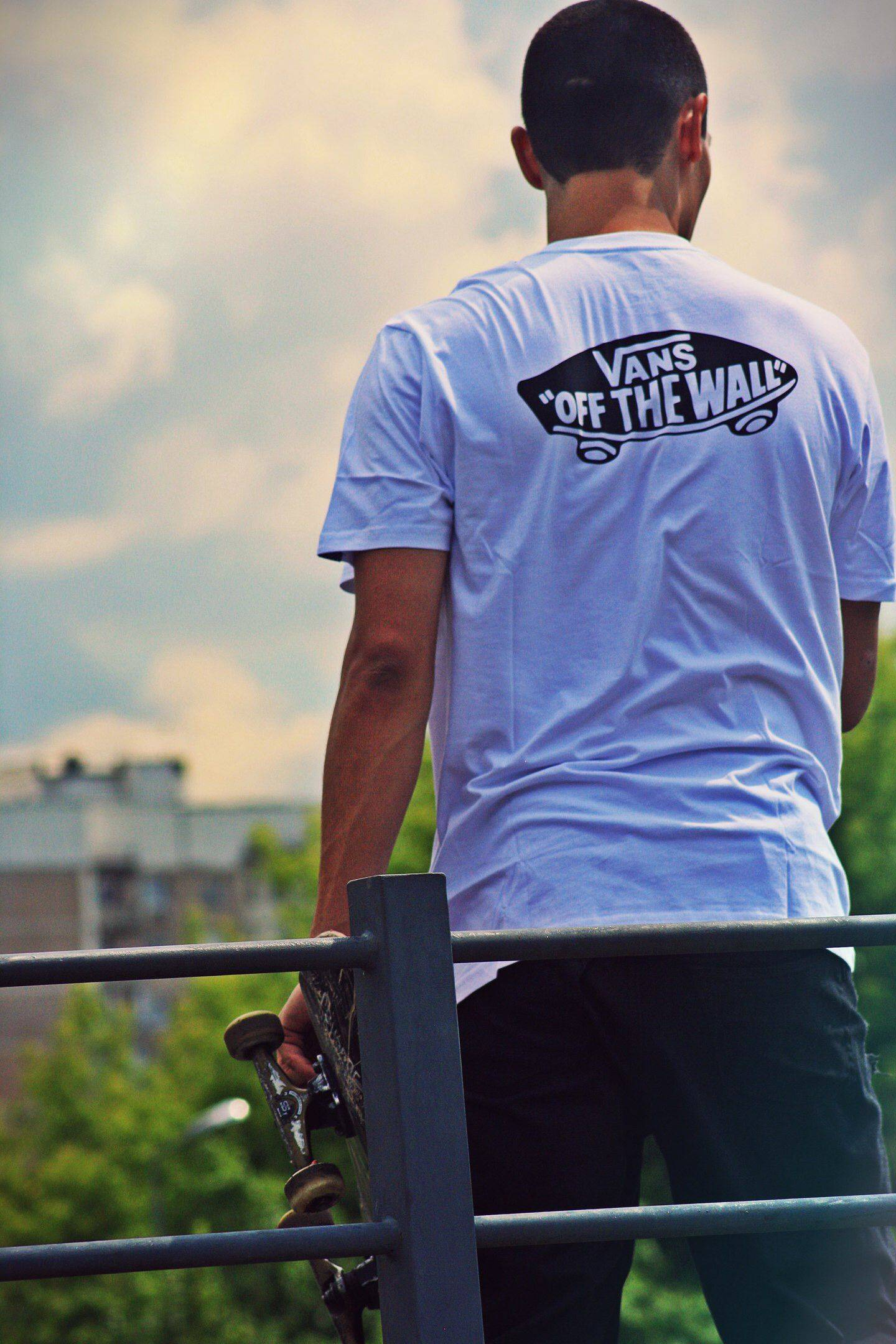 Vans Off The Wall Skateboarding - Stone Forest