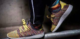 Кроссовки adidas Originals x Pharrell Williams Tennis Hu Pack - Stone Forest