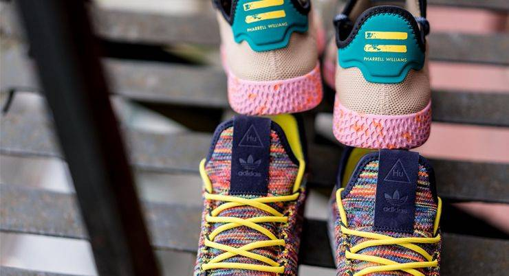 Релиз adidas Originals x Pharrell Williams Tennis Hu Pack - Stone Forest