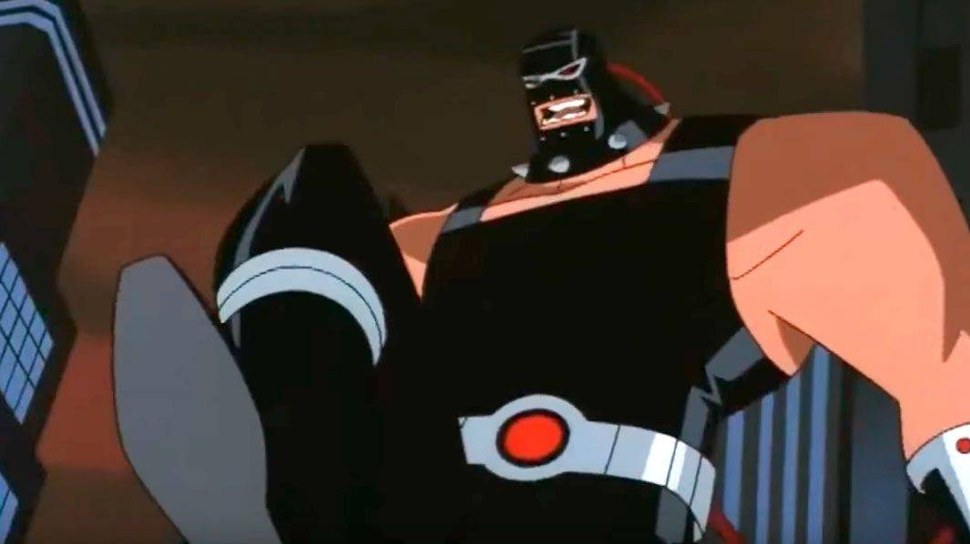 Сериал Batman The Animated Series враг Бэтмена Bane - Stone Forest