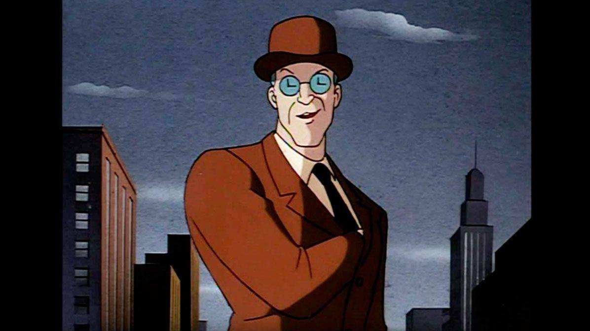 Сериал Batman The Animated Series враг Бэтмена король часов - Stone Forest