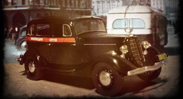Модель автомобиля ГАЗ-М1 - Stone Forest