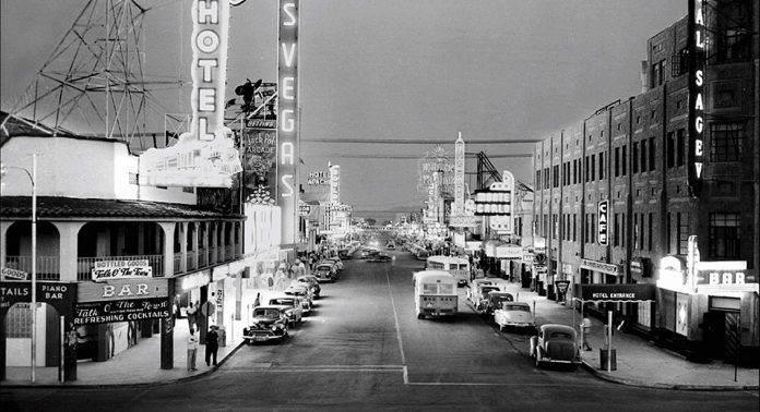 Старые и редкие фотографии Лас-Вегаса - Stone Forest