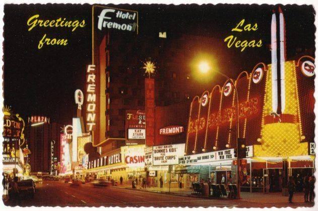 Fremont Street Las Vegas - Stone Forest