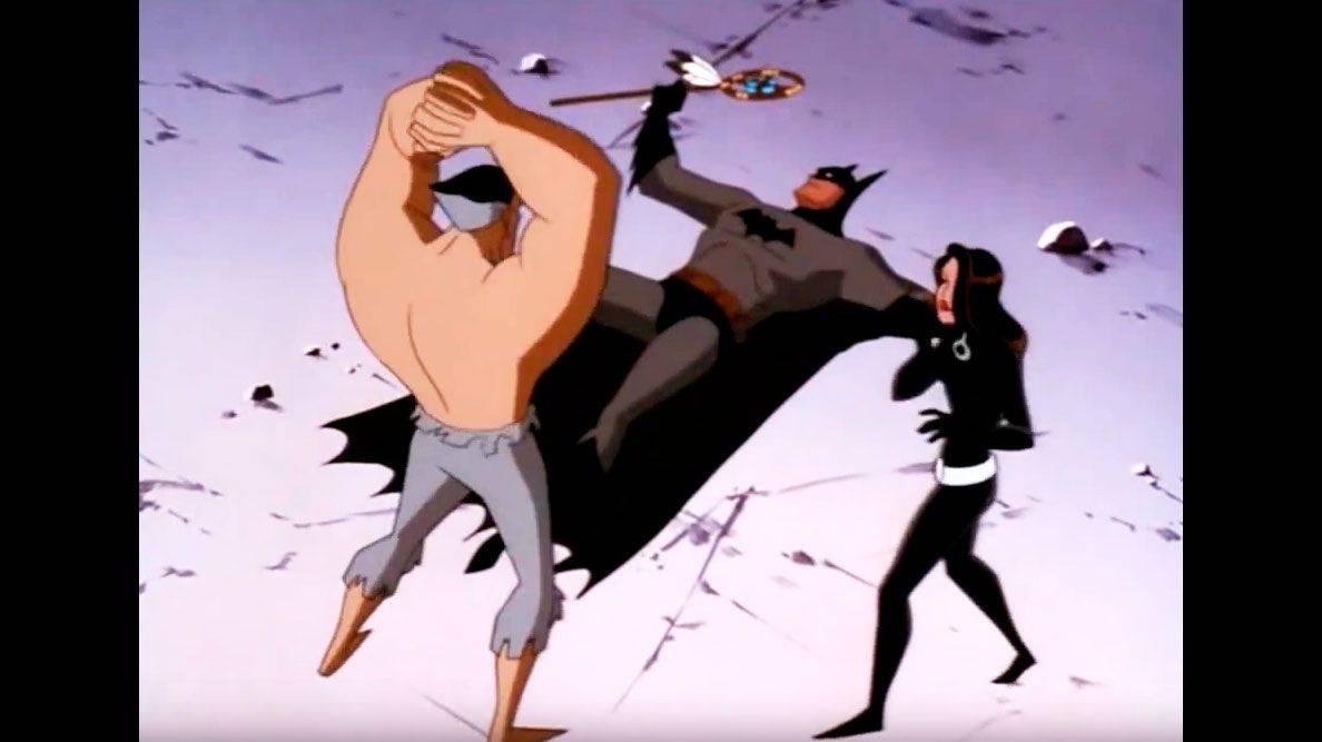 Сериал Batman The Animated Series враг Бэтмена Ра'с аль Гул и его дочь Талия - Stone Forest