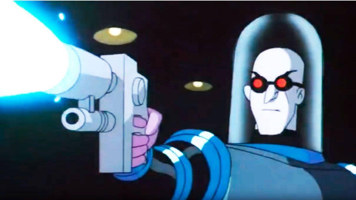 Сериал Batman The Animated Series враг Бэтмена мистер Фриз - Stone Forest