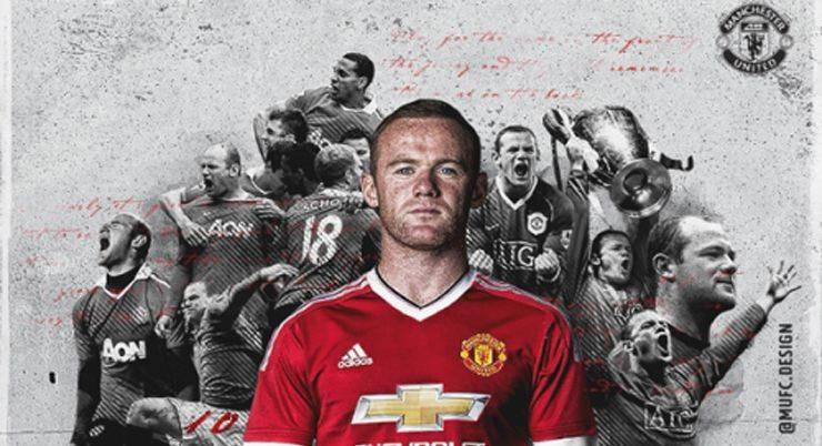 Уэйн Руни капитан в Манчестер Юнайтед - Stone Forest