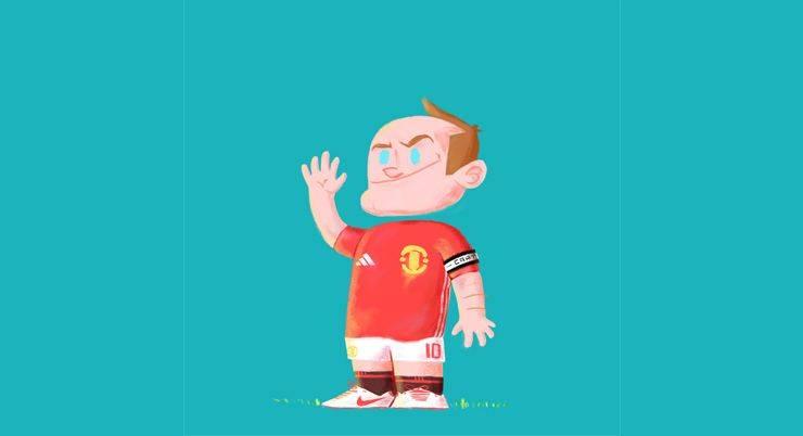 Уэйн Шрек Руни в Манчестер Юнайтед - Stone Forest