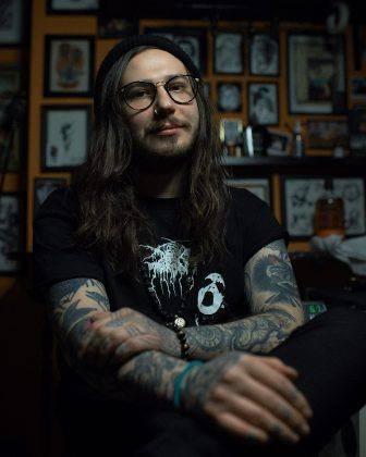 Татуировщик Андрей Кичатый - Stone Forest