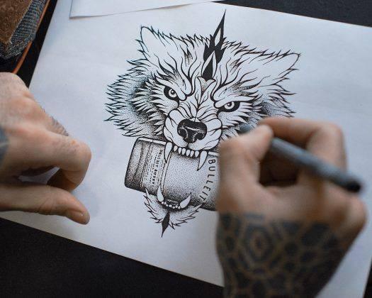 Татуировщик Ерванд Акопов - Stone Forest