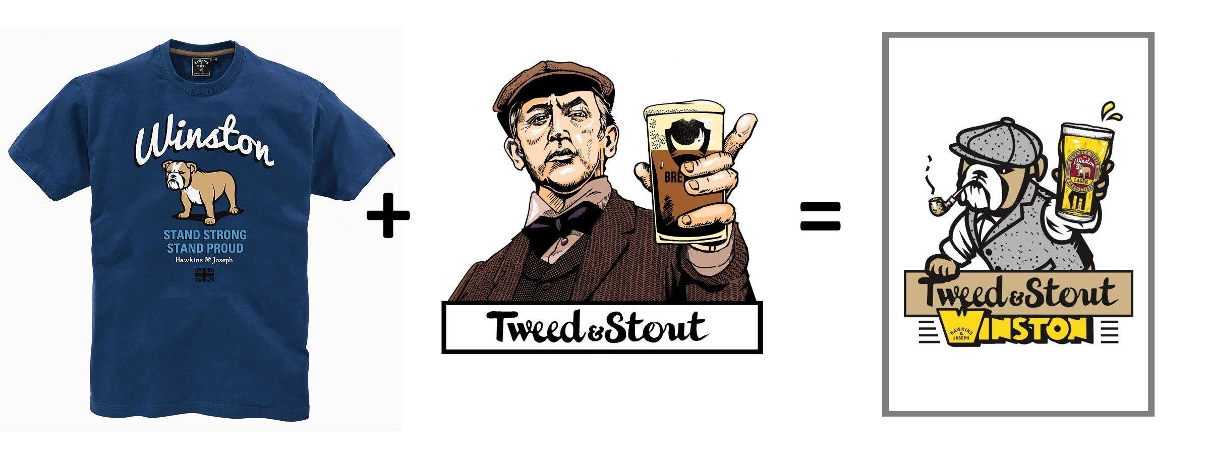 Hawkins and Joseph х Tweed and Stout - Stone Forest