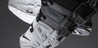Nike Air More Uptempo '96 Tri-Color - Stone Forest