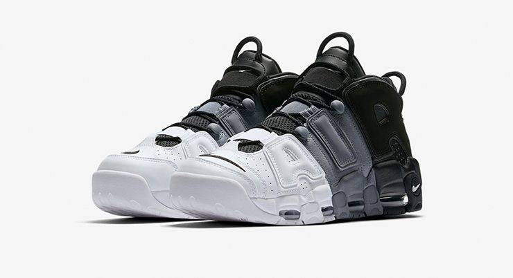 Релиз кроссовок Nike Air More Uptempo '96 Tri-Color - Stone Forest